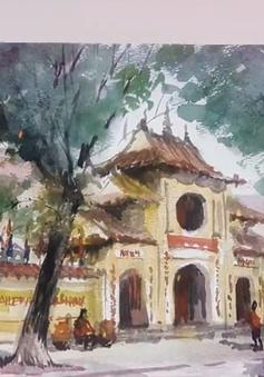Lan tỏa tình yêu Hà Nội từ những bức ký họa đường phố