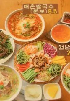 Ẩm thực thuần Việt được ưa chuộng tại Hàn Quốc