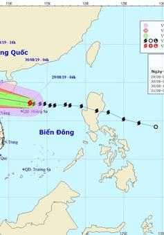 Bão số 4 di chuyển nhanh, dự kiến sáng mai (30/8) sẽ đổ bộ vào khu vực Nghệ An đến Quảng Bình