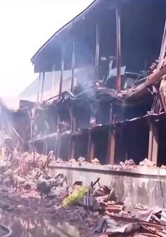 Vụ cháy công ty Rạng Đông: Các tủ chứa hóa chất amalgam chưa bị cháy