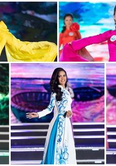 Dàn thí sinh Miss World Việt Nam 2019 khoe dáng thướt tha với áo dài