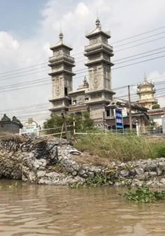 An Giang ban bố tình huống khẩn cấp sạt lở tỉnh lộ 946