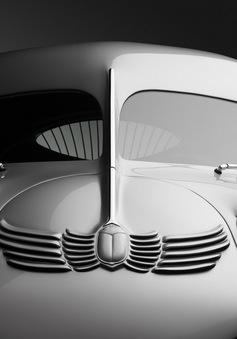 Chiêm ngưỡng chiếc minivan hình giọt lệ đầu tiên trên thế giới, vật chứng của thế chiến thứ 2