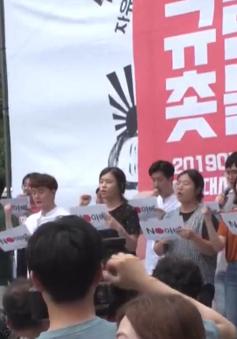 Làn sóng chống Nhật Bản dâng cao tại Hàn Quốc
