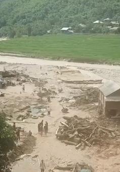 Thanh Hóa huy động lực lượng tìm kiếm 9 người mất tích do mưa lũ