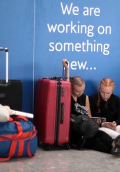 British Airways hủy và hoãn hàng trăm chuyến bay do lỗi hệ thống