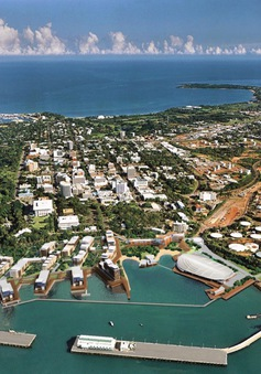 Mỹ lên kế hoạch xây dựng cảng quân sự tại Australia