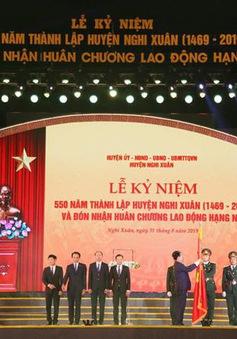Hà Tĩnh: Long trọng Lễ kỷ niệm 550 năm thành lập huyện Nghi Xuân