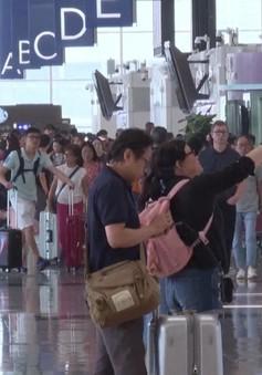 Lượng khách du lịch đến Hong Kong (Trung Quốc) giảm mạnh