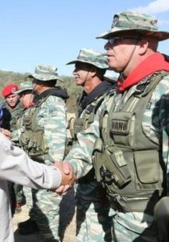 Venezuela tập trận gần biên giới với Colombia