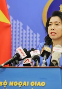 Việt Nam bác bỏ hoàn toàn phát biểu của Người Phát ngôn Bộ Ngoại giao Trung Quốc về vấn đề chủ quyền đối với quần đảo Trường Sa