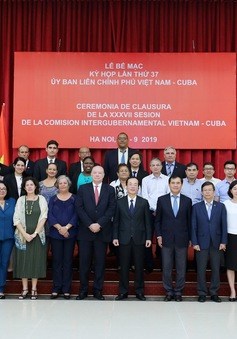 Bế mạc kỳ họp lần thứ 37 Ủy ban liên chính phủ Việt Nam - Cuba