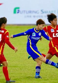 Lịch thi đấu và tường thuật trực tiếp lượt về giải bóng đá nữ VĐQG 2019