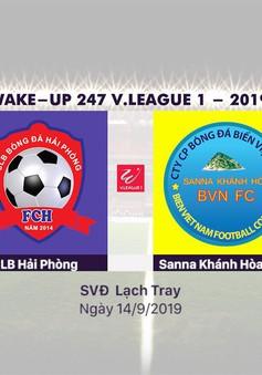 VIDEO Highlights: CLB Hải Phòng 1-1 Sanna Khánh Hòa BVN (Vòng 23 Wake-up 247 V.League 1-2019)