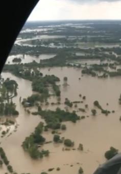 Các tỉnh Đông Bắc Thái Lan ngập lụt diện rộng do mưa lớn kéo dài