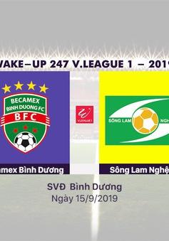 VIDEO Highlights: Becamex Bình Dương 1-5 Sông Lam Nghệ An (Vòng 23 Wake-up 247 V.League 1-2019)