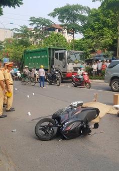Hà Nội: Va chạm xe bồn, người đàn ông đi xe máy tử vong tại chỗ