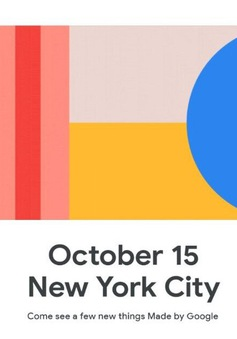 """""""Sát thủ"""" của iPhone 11: Google Pixel 4/4 XL sẽ ra mắt vào ngày 15/10"""