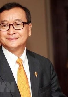Tòa án Campuchia phát lệnh bắt thủ lĩnh đối lập lưu vong Sam Rainsy