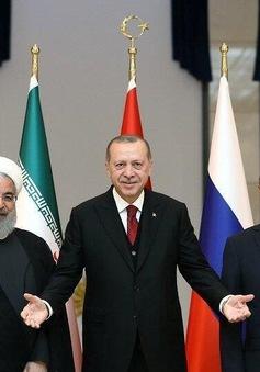 Thượng đỉnh ba bên về Syria: Thổ Nhĩ Kỳ, Nga và Iran phối hợp thiết lập hòa bình ở Syria