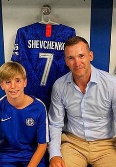 Andriy Shevchenko cho con trai gia nhập học viện Chelsea