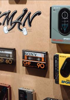 """Sony kỷ niệm 40 năm sinh nhật máy nghe nhạc Walkman bằng triển lãm """"có một không hai"""""""