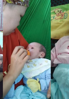 Sức khỏe của bé Bình An và người mẹ ung thư vú sau hai tháng ra viện thế nào?