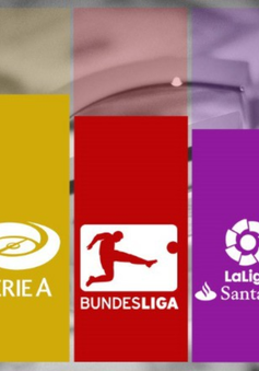 CẬP NHẬT Kết quả, BXH các giải bóng đá VĐQG châu Âu: Ngoại hạng Anh, La Liga, Serie A, Bundesliga, Ligue I