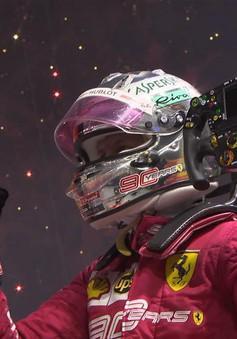 Đua xe F1: Sebastian Vettel giành chiến thắng tại GP Singapore 2019