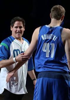 Chủ tịch Dallas Mavericks sẵn sàng chia sẻ cổ phần CLB với Dirk Nowitzki