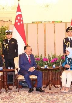 Phó Thủ tướng Trương Hoà Bình và Phu nhân thăm chính thức Cộng hoà Singapore