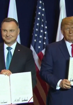 Mỹ và Ba Lan ký tuyên bố chung về hợp tác quốc phòng