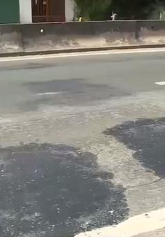 Hà Tĩnh tuyến quốc lộ 1A tiếp tục bị hằn lún xuống cấp