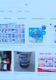 """""""Ma trận"""" sữa xách tay, người tiêu dùng mua bằng niềm tin"""