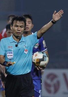 Trọng tài FIFA Trương Hồng Vũ bị treo còi vĩnh viễn