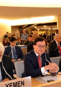 Bế mạc Khóa họp thứ 42 Hội đồng nhân quyền LHQ