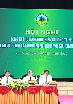 75% xã ở Hà Tĩnh hoàn thành xây dựng nông thôn mới
