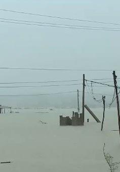 Phía Bắc Trung Bộ ngập lụt diện rộng