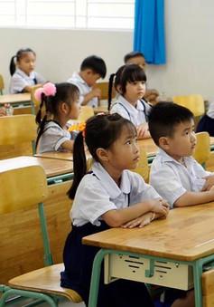 Ngôi trường mới trong ngày khai giảng tại Bình Dương