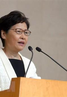 """""""Trung Quốc ủng hộ chính quyền Hong Kong rút lại dự luật dẫn độ"""""""