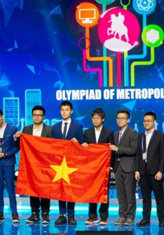 Lần đầu dự Cuộc thi Olympic Quốc tế Moscow, đoàn Việt Nam đạt thành tích cao