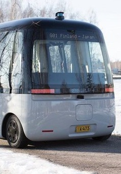 Châu Âu đồng loạt thử nghiệm bus tự lái