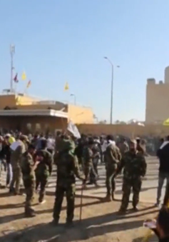 Mỹ triển khai thêm quân bảo vệ Đại sứ quán tại Iraq