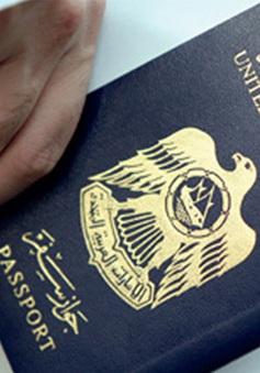 """Người dân UAE sở hữu tấm hộ chiếu có """"quyền lực"""" nhất thế giới"""