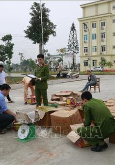 Liên tiếp bắt giữ các vụ buôn pháo lậu tại Yên Bái, Quảng Ninh