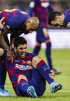 Không cần đặt bút ký, Suarez tự gia hạn với Barcelona