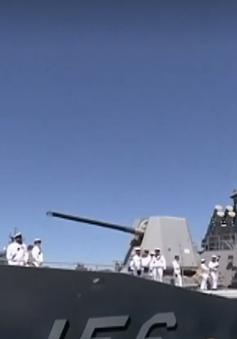 Australia điều tàu chiến đến khu vực Eo biển Hormuz