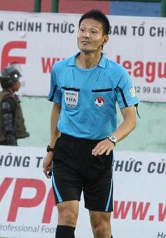 Trọng tài trận U23 Việt Nam và U23 Jordan từng bắt chính ở V.League