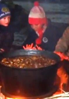 Đón năm mới ở vùng Kavkaz, LB Nga