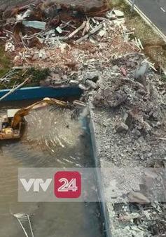 Cưỡng chế công viên nước Thanh Hà
